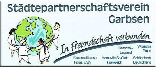 Städtepartnerschaftsverein Garbsen - In Freundschaft verbunden